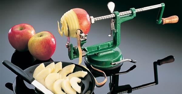Нарезка яблок для сушки своими руками 1