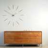 Часы настенные Nomon Merlin Gold 12 N Wall Clock